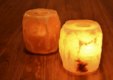 Himalayan Salt Tea Light Holder Gift Set