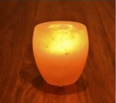 Cone Shaped Tea light Candle Holder