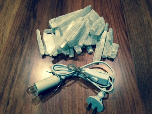 D.I.Y Selenite Fire Bowl Kit