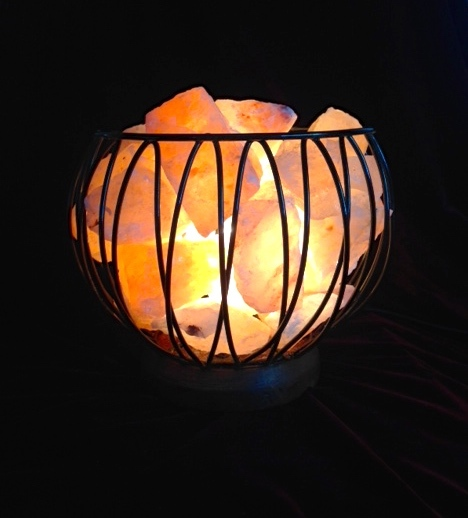 Caged Fire Bowl - Medium - FREE shipping for a short time