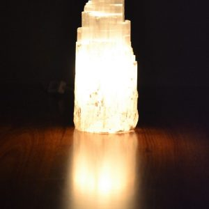 Selenite Lamp 20 - 25 cm high