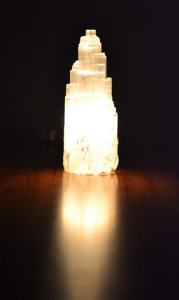 Selenite Lamp 20-25cm - Purchase 2 for only $125