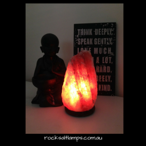 3 - 4 kg Rock Salt Lamp