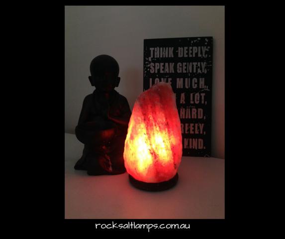 3 - 4 kg Rock Salt Lamp