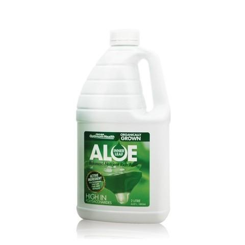 Lemon / Lime Inner Leaf Organic Aloe Vera Juice - 2 litres