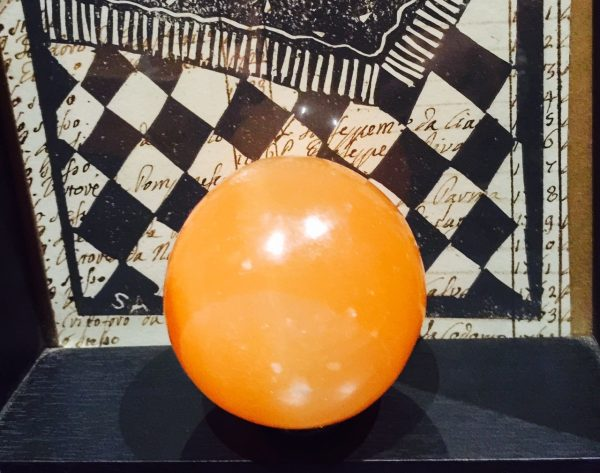 Selenite Sphere - Peach