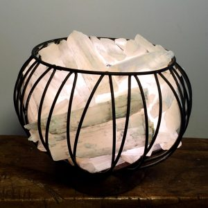 Selenite Crystal Cage