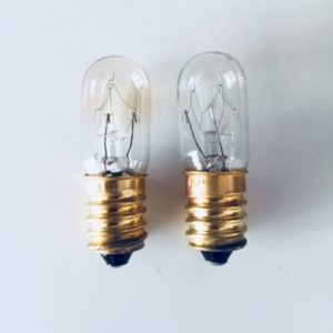 Replacement Globes 7 watt & 15 watt - Buy 6 of each and receive FREE shipping