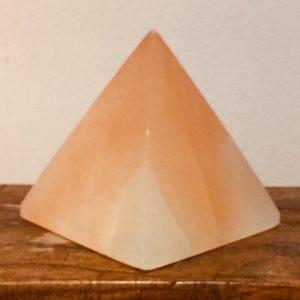 Selenite Pyramid Large (peach)