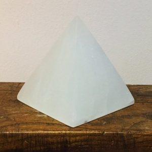 Selenite Pyramid Large