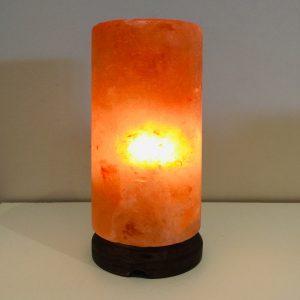 Cylinder Himalayan Salt Lamp