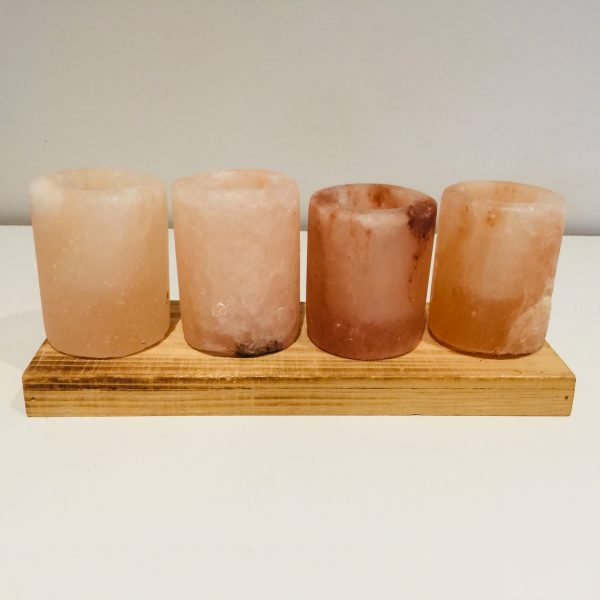 Pink Himalayan Salt Tequila Shot Glasses (set of 4) - HALF PRICE