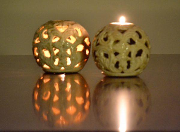 Ceramic Tea Light Holder - HALF PRICE