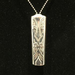 Elegant Harmony Bell Pendant Necklace